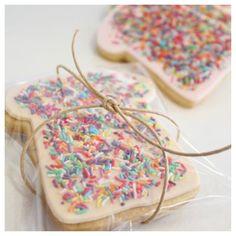 Fairy bread sugar cookies by Sweet Table Australia