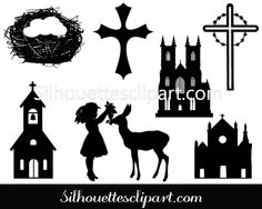 Easter Vector Graphics Download Easter Silhouette
