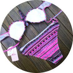 Sexy Boho beach bikini