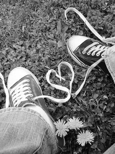 engagement photo with chucks!