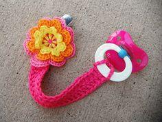 ..non*sense..: crochet pacifier clip