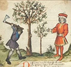 Ms. germ. qu. 12 - Die sieben weisen Meister SchreiberHans <Dirmstein> ErschienenFrankfurt, 1471 Folio 14v