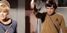 There is nothing quite as perfect as this Chekov fail gif...except for maybe Chekov's hair in this gif.