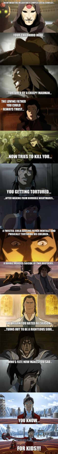 Legend of Korra - Kid's show by yourparodies.deviantart.com on @deviantART