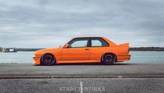 1986 BMW E30 M3 on Compomotive Motorsport TH wheels. | Photos by Matthew Dear - STANCE | WORKS.