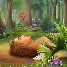 God Creates Adam and Eve Jesus Christ Images, Jesus Bible, Bible Words, Christian Background Images, Christian Backgrounds, Bible Images, Bible Pictures, Christian Movies, Christian Art
