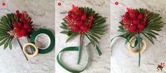DIY - Argola guardanapo natalino