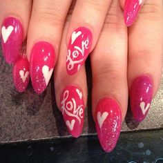 valentines day nails1