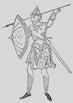 Anglo-Saxon Warrior