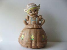 Dutch Girl Cookie Jar by Twin Winton
