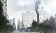 architect Kengo Kuma has revealed plans for his first tall building in ., Japanese architect Kengo Kuma has revealed plans for his first tall building in ., Japanese architect Kengo Kuma has revealed plans for his first tall building in . Vancouver Architecture, Cultural Architecture, Residential Architecture, Architecture Graphics, Architecture Visualization, Architecture Interiors, Building Architecture, Landscape Architecture, Kengo Kuma