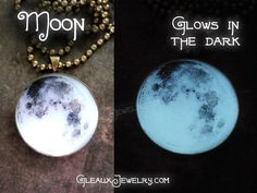 Christmas idea!!!!!! The Real Full Moon Glow Pendant