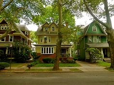 Houses And A Tree In Ditmas Park Wondering If Is Right For You