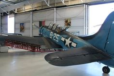 Douglas SBD Dauntless dive bomber. US Navy, WW2. Palm Springs Air Museum. Photo by Patrick Mack.