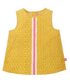 Little Bird by Jools Orange Ditsy Blouse - t-shirts - Mothercare