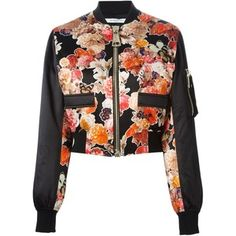 Givenchy Floral Bomber Jacket