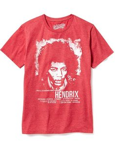 Jimi Hendrix&#174 Graphic Tee for Men Product Image
