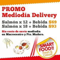 SushIPhone , el mejor delivery de sushi de  buenos aires. Promocion mediodia , envios gratis para el microcentro .Delivery de Sushi en caballito, Palermo , Belgrano,Nuñez, Micorcentro, Puerto Madero