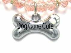 """""""Dog Gone Cute"""" Charm Necklace by JewelryGirlPets"""