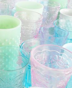 pastel glasses by such pretty things, via Flickr