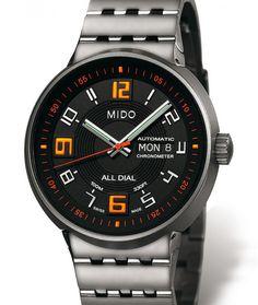 Mido | All Dial Big Gent Chronometer | Titan | Uhren-Datenbank watchtime.net