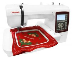 Máquina de Bordar Janome - MC230E com as melhores condições você encontra no Magazine Edmilson07. Confira!