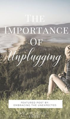 Understand the importance of unplugging from technology so you can focus on those that truly matter. God and family. #saltandlightlinkup #milkandhoneyfaith