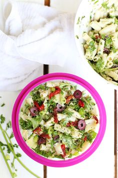 3 Vegan Back To School Salads