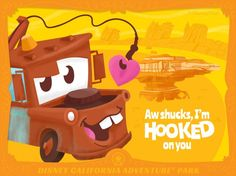 Share Some Magic With Disney Parks Valentines | Mater