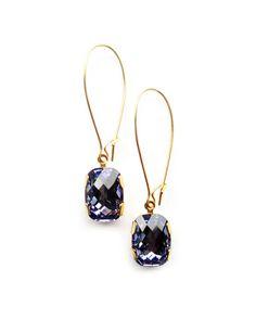 Purple Bling Earrings - JewelMint