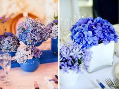 Royal Blue Wedding - Ideas for Em Wedding Color Schemes, Wedding Colors, Wedding Flowers, Periwinkle Wedding, Color Inspiration, Wedding Inspiration, Wedding Ideas, Flower Decorations, Wedding Decorations
