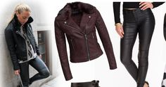 Mode Världen: Tips ! Mode trend från Petronella Ekroth här kan d. Got Online, All About Fashion, Den, Fashion Online, Leather Jacket, Gossip, Tips, Jackets, Studded Leather Jacket
