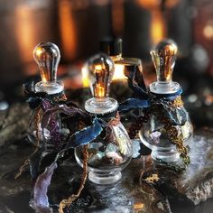 Ancestor Oil for Invocation, Seance, Ancestor & Spirit Callings, Samhain Rituals, Essential Crystal Gemstone Potion DIY