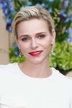 Prince Albert and Princess Charlene gave a private cocktail party in honor of the 55th anniversary of the Television Festival of Monte Carlo.