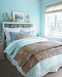 Déco chambre bleu pastel et gris   Pastel
