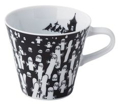 Moomin Valley Mug Cup Yamaka in glaze Hattifatterner from Japan GIFT The Moomins Moomin Mugs, Moomin Valley, Tove Jansson, Candle Packaging, Lassi, Little My, Mug Cup, Glaze, Coffee Cups