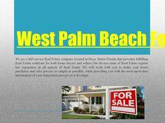 West palm beach foreclosure