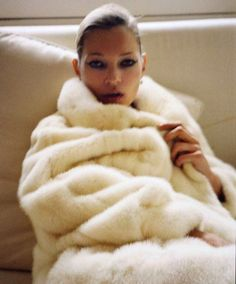 Kate Moss fur
