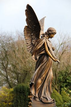 Untitled | michael_hamburg69 | Flickr Cemetery Angels, Cemetery Statues, Cemetery Art, Angel Statues, Angels Among Us, Angels And Demons, Sculpture Art, Sculptures, Angel Images