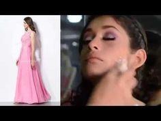 Hot Pink Bridesmaid Dress with Pink Makeup Tips