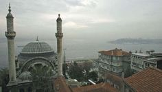 The view of Istanbul from the window of Orhan Pamuk