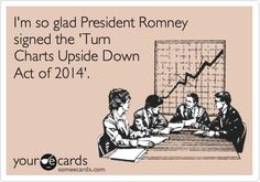 I'm so glad President Romney signed the 'Turn Charts Upside Down Act of 2014'.
