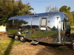 Airstream Sustainability by Hofmann Architecture - some good ideas to use even in larger places. Airstream Caravans, Airstream Remodel, Airstream Interior, Vintage Airstream, Vintage Trailers, Camper Trailers, Travel Trailers, Vintage Campers, Airstream Living