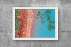 Treppe zum Broome Wandkunst Digitaldruck druckbare