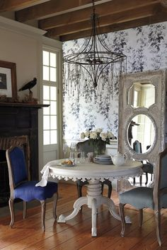 Interior And Exterior, Interior Design, French Interior, French Decor, Interior Doors, Bathroom Interior, Dining Chairs, Dining Table, Dining Area