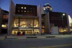 National Underground Railroad Freedom Center in Cincinnati USA. Located on the Ohio River, near The Banks and Great American Ball Park.