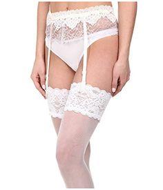 8f87b7d4056 Hanky Panky Womens Dauphine Garter Belt White Lingerie MD >>> BEST