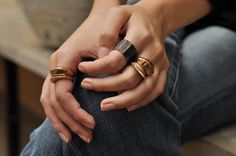 Gorgeous rings from Julie Cohn Design