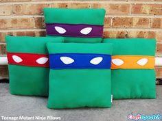 TMNT pillows