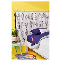 Add a pop of color to any college dorm in only minutes with this DIY headboard. All you need are command hooks, rope and your favorite fabric to complete the look. Easily swap out the tapestry with a different print at any time.